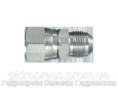 Адаптер прямое соединение внешняя резьба, с отбортовкой, Нержавеющая сталь Rubrik 6.16