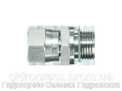 Адаптер прямое соединение внешняя резьба, Нержавеющая сталь Rubrik 6.15