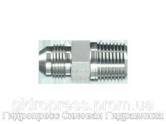 Адаптер прямое соединение внешняя резьба, с отбортовкой, Нержавеющая сталь Rubrik 6.14