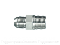 Адаптер прямое соединение внешняя резьба, с отбортовкой, Нержавеющая сталь Rubrik 6.13