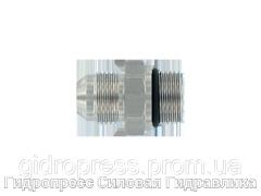 Адаптер прямое соединение внешняя резьба, с отбортовкой, Нержавеющая сталь Rubrik 6.12