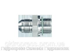Адаптер прямое соединение внешняя резьба, с отбортовкой, Нержавеющая сталь Rubrik 6.11