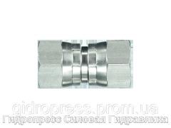 Адаптер прямое соединение внешняя резьба, Нержавеющая сталь Rubrik 6.10