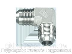 Угловой адаптер - угловые соединители 90°, с отбортовкой, Нержавеющая сталь Rubrik 6.8