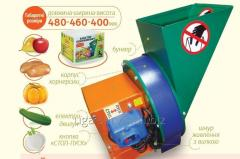 Electrogrinder of vegetables and frui