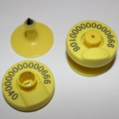 Чипы для животных ушные FDX-B ISO11784/785
