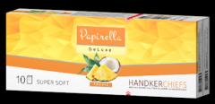 Носовые платки Papirella 3х слойные (аромат тропик)