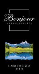 Носовые платки Bonjour (аромат альпийская свежесть)