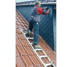 Лестница для крыш алюминиевая KRAUSE 8 ступеней