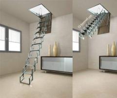 Чердачная лестница FANTOZZI ACI SVEZIA 100х70 см
