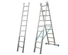 Трехсекционная универсальная лестница KRAUSE