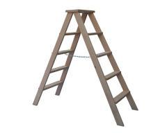 Wooden bilateral step-ladder of VIRASTAR HOBBY of