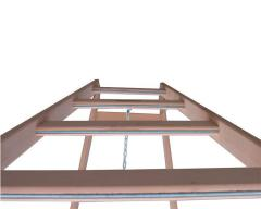 Wooden step-ladder-hodulya of VIRASTAR HARDWORK of