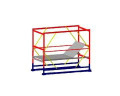 Базовый блок вышки-туры VIRASTAR КОМПАКТ-М 1,7x0,8