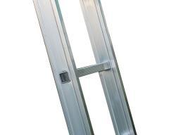 Односекционная алюминиевая лестница Unomax Pro