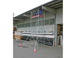 Передвижная вышка KRAUSE STABILO серия 5000 (3,0x1,5 м) раб. высота 7,3 м