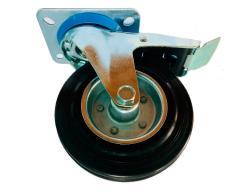 Колесо поворотное с тормозом для вышки-туры