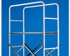 Working platform for a scaffolding of SVELT GENIUS