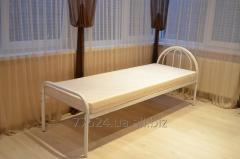 Кровать металлическая для медицинских учреждений.