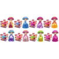 Кукла Cupcake 2125, 288шт/4, 8 видов, трансформер, запах, с аксесс, кукла 14 см, в кор.10 * 10 * 10см
