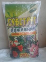 Субстрат универсальный для декоративно – лиственных и цветущих растений. 20 литров