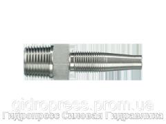 Ниппель резьбовой AGN, Нержавеющая сталь Rubrik 4.16