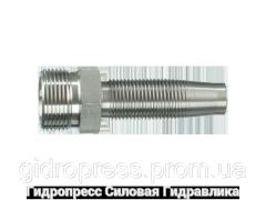 Ниппель резьбовой CEL + CES конус 24° Rubrik 4.13