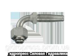 Ниппель Угловые соединения 90°, Нержавеющая сталь Rubrik 4.12