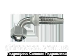 Ниппель Угловые соединения 90°, Нержавеющая сталь Rubrik 4.9