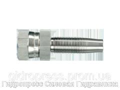 Ниппель Прямые соединения, Нержавеющая сталь Rubrik 4.7