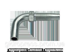 Ниппель Угловые соединения 90°, Нержавеющая сталь Rubrik 4.6