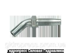 Ниппель Угловые соединения 45°, Нержавеющая сталь Rubrik 4.5