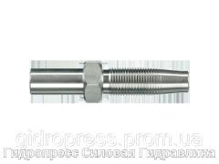 Ниппель Прямые соединения, Нержавеющая сталь Rubrik 4.4