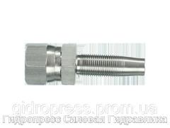 Ниппель винтовой JIC-37°, Нержавеющая сталь Rubrik 4.17