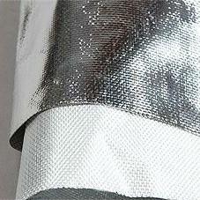 Folgirovanny fiber glass fabric