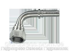Ниппель - yгловые соединения 90°, Нержавеющая сталь Rubrik 2.39