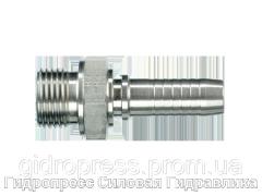 Ниппель ORFS с внешней резьбой, Нержавеющая сталь Rubrik 2.60