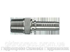 Ниппель Внешняя резьба BSP, коническая (AGR-K), Нержавеющая сталь Rubrik 2.46