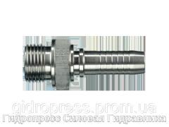 Ниппель Внешняя резьба BSP – с плоским уплотнением (AGF), Нержавеющая сталь Rubrik 2.45