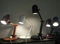Светильник-трансформер из дерева.