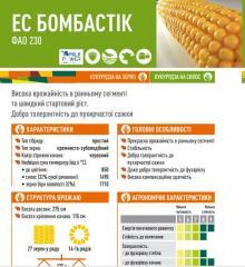 Семена кукурузы ЕС БОМБАСТІК