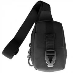 Purse bag for phone through a shoulder black