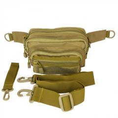 Bag universal zone with MOLLE a coyote of