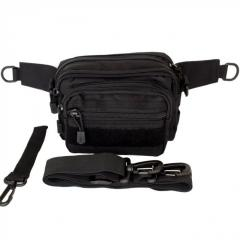 Bag universal black TGBP-1105-bl, zone with MOLLE
