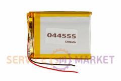 Литий-полимерный аккумулятор 044555 1200mAh 43x58mm