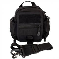 Bag universal with the MOLLE system through a