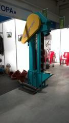 Noriya grain tape (The conveyor grain kovshovy) is