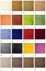 Мебельные ткани велюр категории эконом Алоба