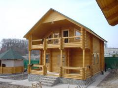 Дома срубы деревянные Украина