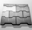 Rubber paving slabs of TU U 600152448.027-99